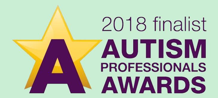 2018 Finalist Autism Professionals Awards Logo